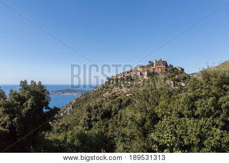 Eze the Eagle's Nest near Monaco in France