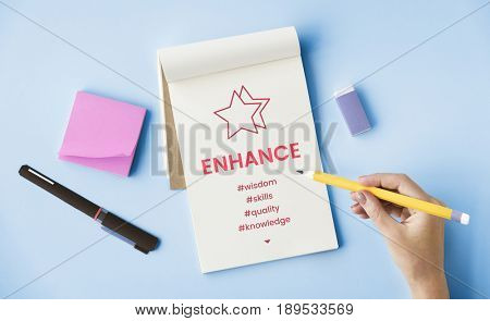 Enhance Performance Development Training Concept
