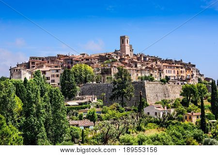 Saint Paul de Vence a historic village in Nice France