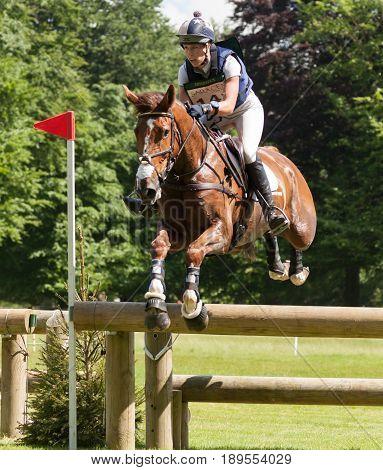 Houghton International Horse Trials Caroline March Riding Barrichello