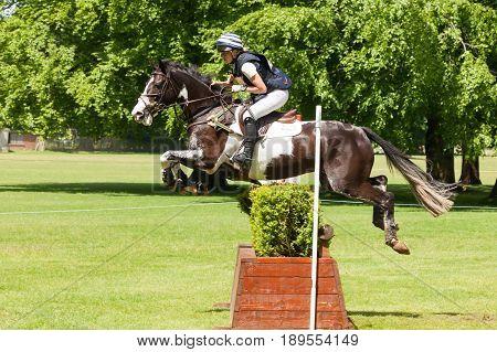 Houghton International Horse Trials Martha Craggs Riding Corbett
