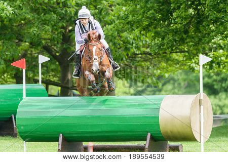 Houghton International Horse Trials Gemma Tattersall Riding Chilli Knight