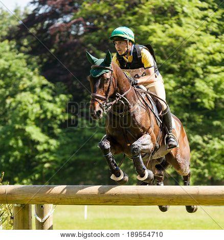 Houghton International Horse Trials Gabriel Cury Riding Phineas Finn