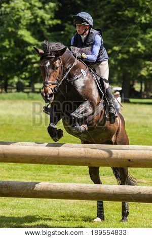 Houghton International Horse Trials Rosalind Canter Riding Pencos Crown Jewel