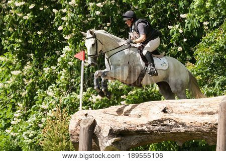 Houghton International Horse Trials Rosie Thomas Riding Heat Wave