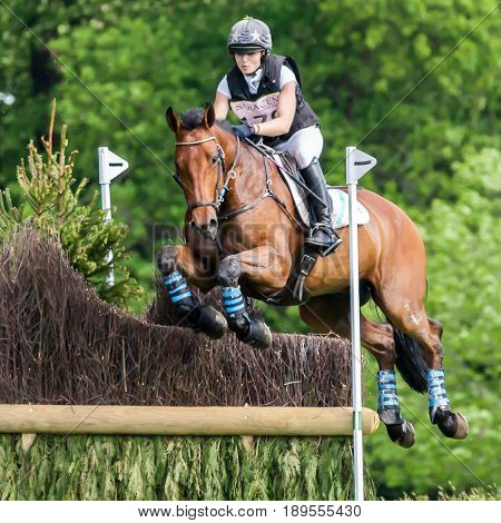 Houghton International Horse Trials Daisy Charlier Riding Arcos