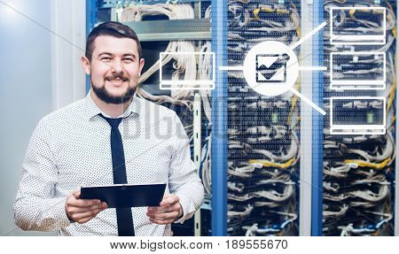 IT administrator at the server. Customer Support