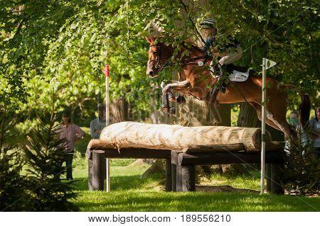 Houghton International Horse Trials Georgie Norton Riding Design A Cooley