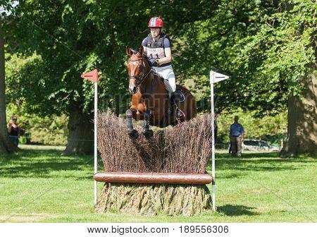 Houghton International Horse Trials Heidi Bratlie Larson Riding Caramelle