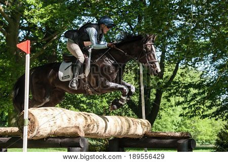 Houghton International Horse Trials Izzy Laurence Riding Whitney B