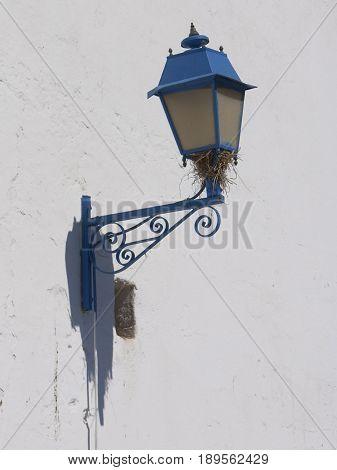 beautiful lantern in Sidi Bou Said Tunis