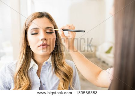 Pov Of A Makeup Artist At Work