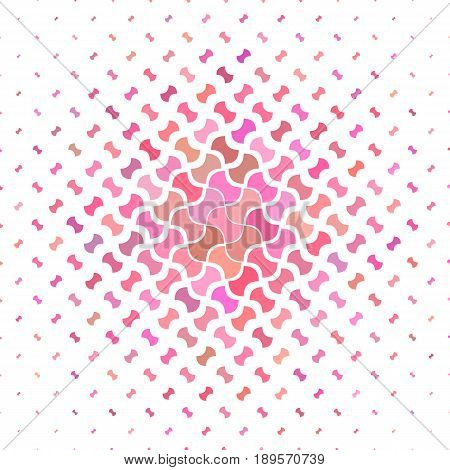 Pink geometric pattern background design - vector illustration