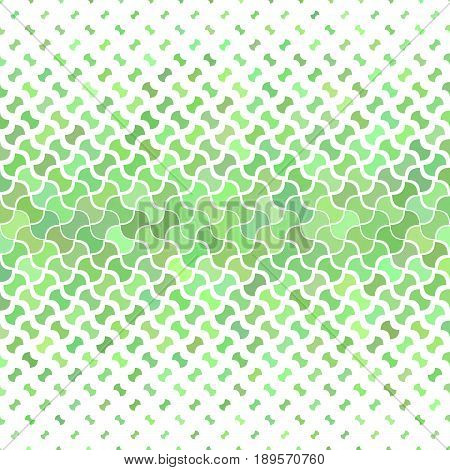 Green abstract geometric pattern background - vector illustration
