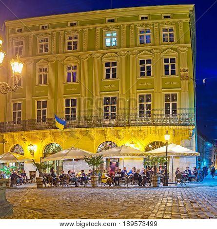Dinner In Lvov