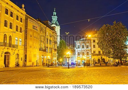 The Night In Lvov