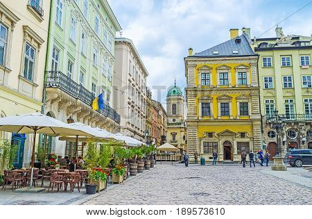 The Sites Of Old Lvov