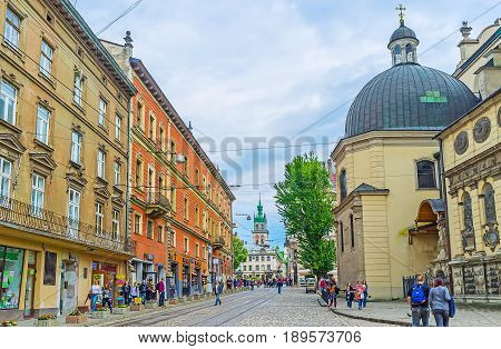 The Churches Of Lvov