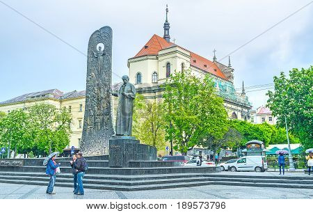 The Monuments In Lvov
