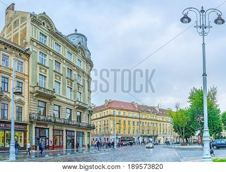 Architecture Of Lvov