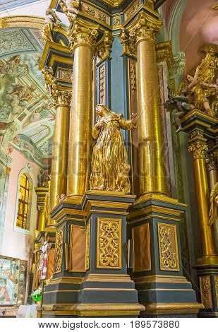 Decors Of St Andrew Church In Lvov