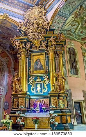 The Altar Of Virgin Mary