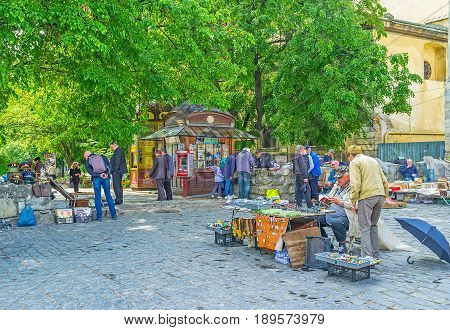 The Flea Market In Lvov