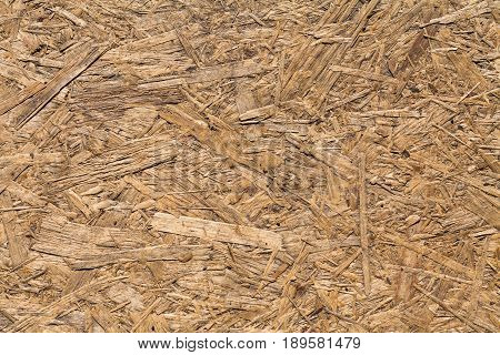 Particleboard. Sheet composite material made by hot pressing of wood particles