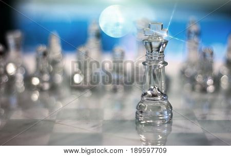 Queen Of Crytal Chess Game
