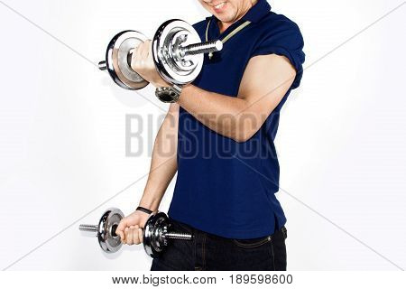 Work Out With Dumbell