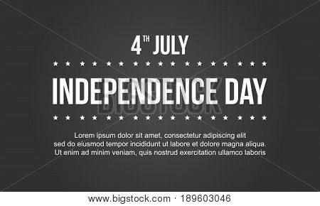 Independence day collection stock background vector art