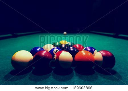 Billards Pool Game.