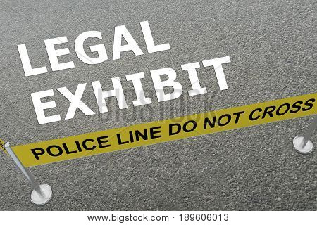 Legal Exhibit Concept