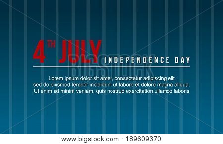 background independence day vector illustration collection stock