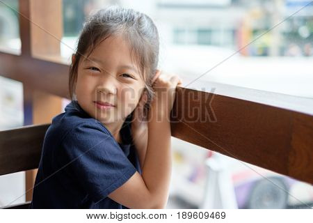 Happy Smiling Asian Child
