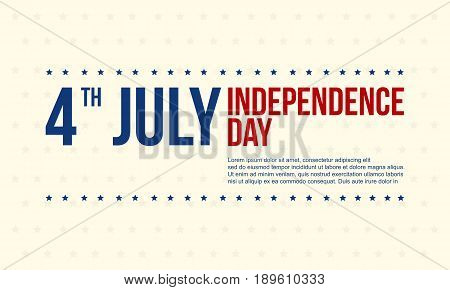 Independence day background collection stock vector art