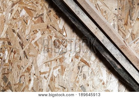 Wooden Planks And Oriented Strand Board
