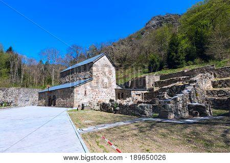 Chitakhevi St. George's Monastery, Green Monastery, located in Borjomi valley, Georgia