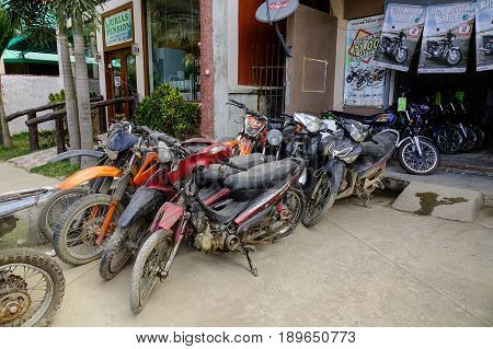 Motorbike Rental In Palawan, Philippines