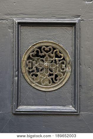 Old Door Peephole