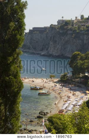 Beach Coast Of Sicily