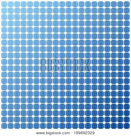 Photovoltaic electric solar Panel Texture. Vector Illustration