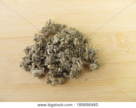 Garden sage, Salviae folium, for herbal medicine