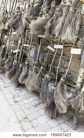 Witches Brooms Parking