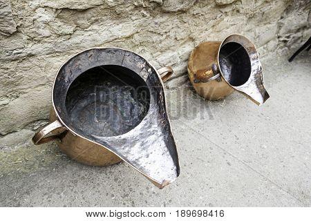 Antique Copper Vessels