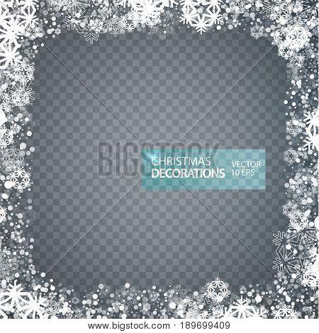 Christmas Decoration. New Year Background
