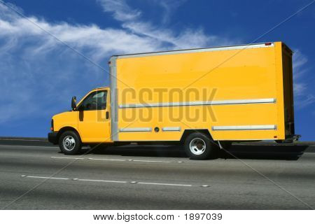 Put Your Ad On Yellow Truck