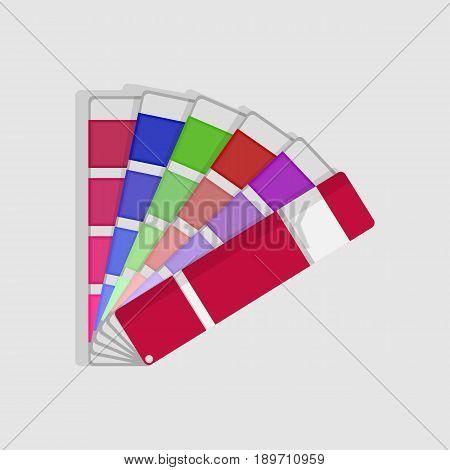 color swatch palette - vector eps 10