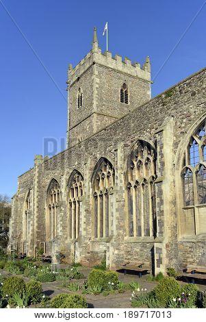 St Peter's Church, Castle Park, Bristol