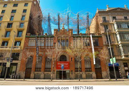 Fundacio Antoni Tapies Building